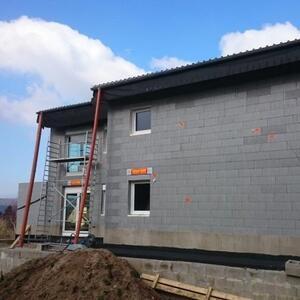 2017: Bei Rinteln entsteht ein 2 Familienhaus