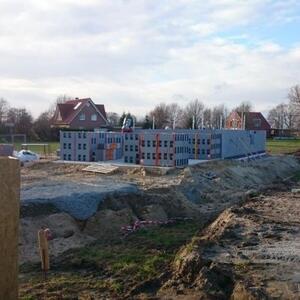 2015: Einfamilienhaus mit Anbau und Garage bei Bremen