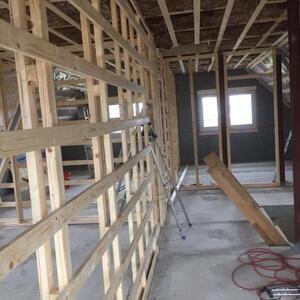 2015: Ein weiteres Einfamilienhaus entsteht in Verden