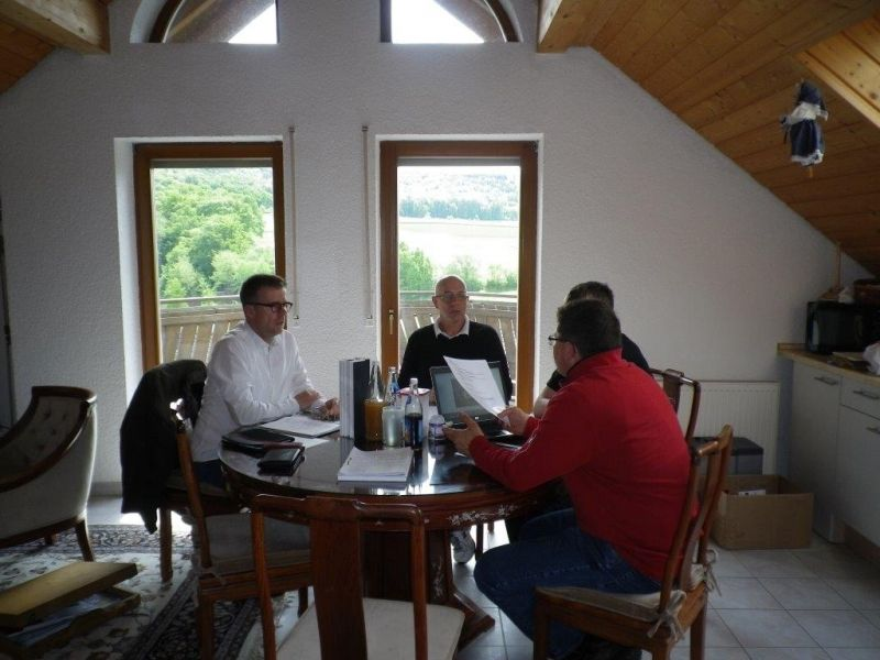 Ein Selbstbau-Haus im Frankenland