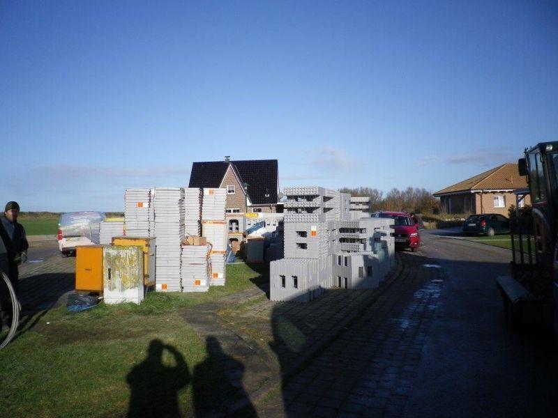 Baustelle bei Heiligenhafen